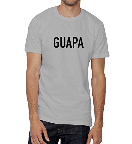 Guapa Mujer Magnifica Sexy Latina Amor_000643 Ugly T-Shirt Birthday for Him MD Man Grey