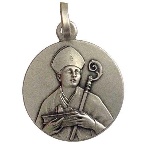 925 Sterling Silber von Heiliger Gennaro Medaille