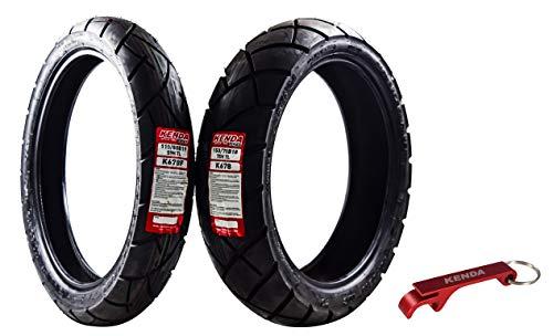 Kenda Big Block Paver Dual Sport Motorcycle Tires 110/80B19 Front 150/70B18 Rear 110/80-19 150/70-18