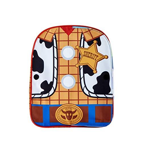 Zaino reversibile Woody Buzz Lightyear Woody per bambini Toy Story Woody Zaino per la scuola dei ragazzi Sherrif Zaino
