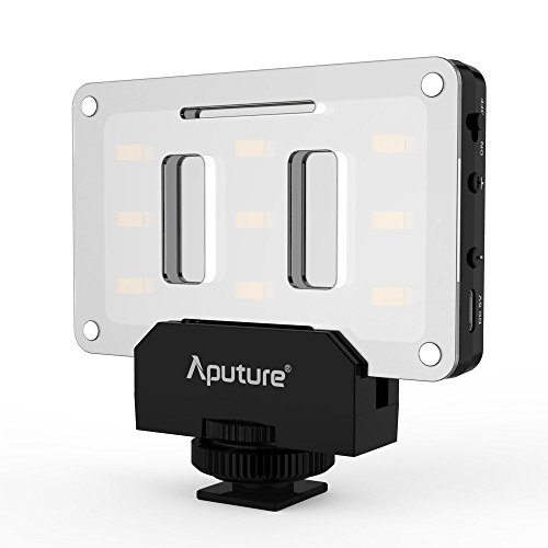 Aputure AL-M9 Amaran LED Mini Light on Camera Video Light, Black