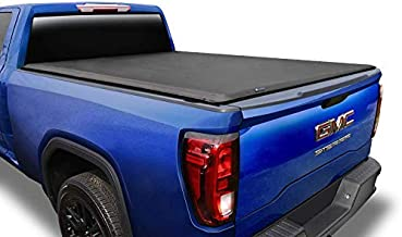 Tyger Auto T1 Roll Up Truck Tonneau Cover TG-BC1C9007 Compatible with 2014-2018 Chevy Silverado / GMC Sierra 1500; 2015-2019 2500 3500 HD; 2019 LD/Limited Only | 6'6