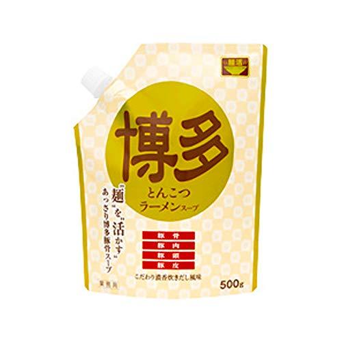 麺活 豚骨ラーメンスープ博多 500g×10