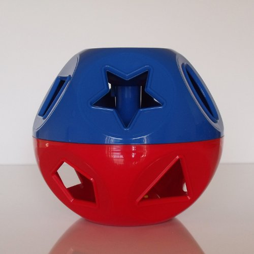 4KIDS Toy / Game Extreme Tupperware Shape O Ball Toy - Develop Coordination and Dexterity - Great Fun for Kids