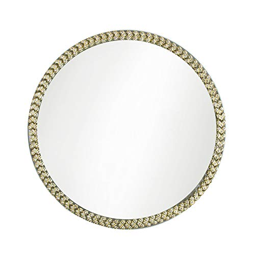 27 x 4 x 27 KOUBOO 1040140 Rattan Ray Wall Mirror