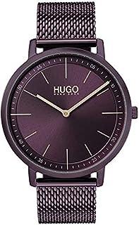 Hugo Boss Women's Aubergine Dial Ionic Plated Aubergine Steel Watch - 1540011