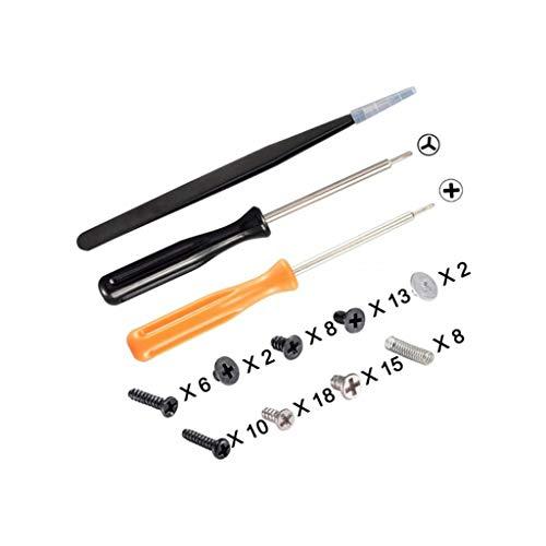 ZJL220 Kit de herramientas de reparación de destornilladores NS Joy-Con para controlador NitendoSwitch Pro