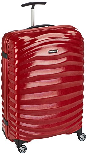 Trolley Rigido 69cm 4 Ruote Medio Spin | Samsonite Lite-Shock | 98V002-Chili Red