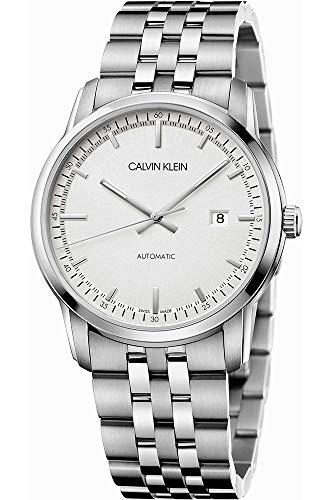 Calvin Klein Herren Analog Automatik Uhr mit Edelstahl Armband K5S3414X