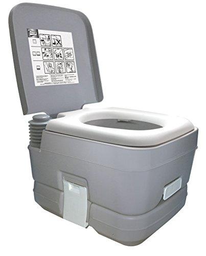 Leisurewize LW536 10L Portable Flushing Toilet | Large Compact Camping,...