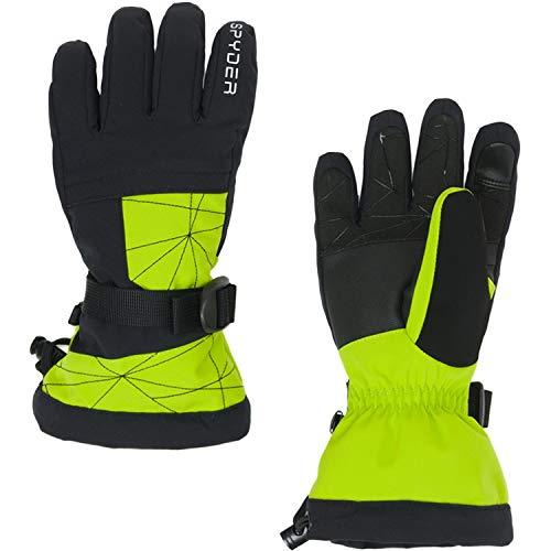 Spyder Jungen Skihandschuhe Overweb Ski Glove grün (400) M