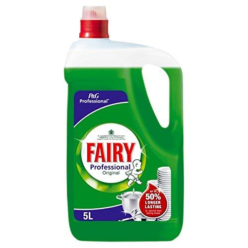 Fairy Professional - Líquido de lavado (5 L, 2 unidades)