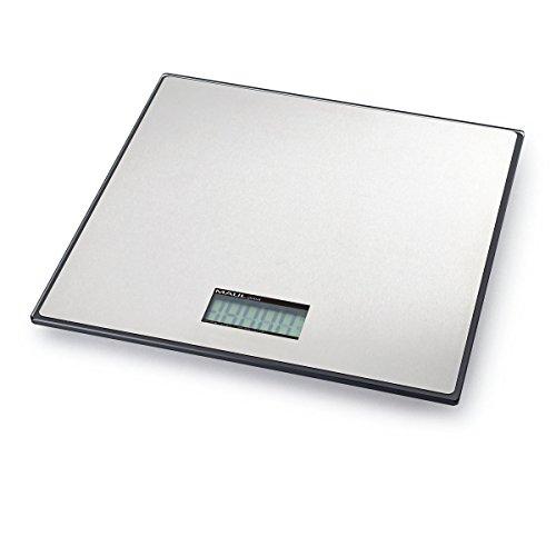 Maul 1712590 Paketwaage MAULglobal, 25 kg, 32 x 32 cm, Silber, 1 Stück