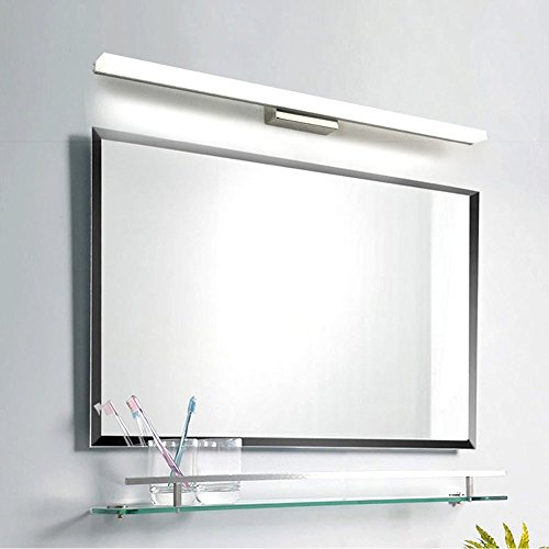 UPON SUN Modern Bathroom Wall Light Mirror Front LED Lighting Waterproof Antifogging LED Tube Vanity Light (16W 31.5 inch, Cold White)