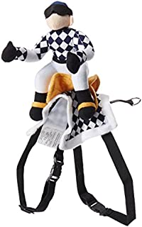 Zack & Zoey Show Jockey Saddle Dog Costume, Large