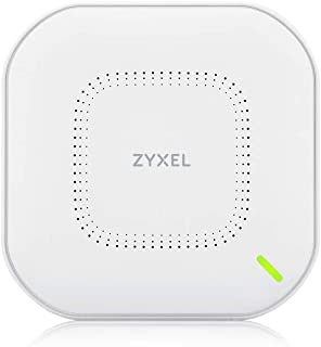 ZyXEL WiFi 6 auténtico Wi-Fi AP (802.11ax Dual Band), 1,77 Gbps con CPU Quad Core y antena dual 2x2 MU-MIMO, gestionable a...