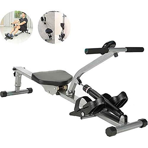 XLanY Einstellbare Start Rudergerät, Männlicher Und Weiblicher Gewichtsverlust Muskeltraining Wasser Rudergerät Faltbare Fitnessgeräte (Größe: 148 * 51 * 68Cm)
