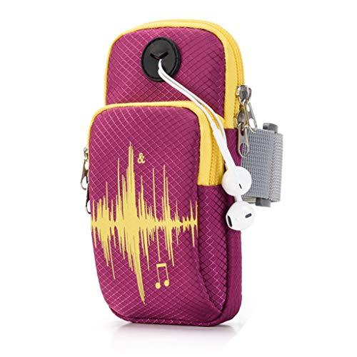 Arm Tasche Handy-Armband - Laufen Handy-Arm-Pack, Sport, Wasserdicht, Fitness-Handgelenk-Tasche, Laufen, Joggen, Gehen, Wandern, Männer Und Frauen (Color : 1)