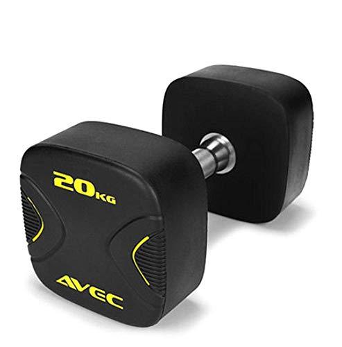 YLJYJ Fitness-Hanteln für Männer und Frauen, Arm-, Bein-, Brustmuskeltraining, Kraft, Geschwindigkeit, Ausdauerform, die perfekte Figur für jeden Boden, 20 kg