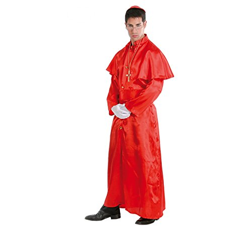 Red cardinal costume per un uomo