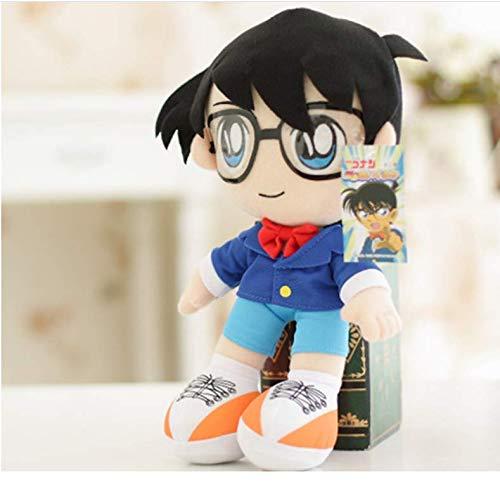N/T Japanese Anime Detective Conan Plush Toys Case Closed Edogawa Conan Plush Doll Soft Stuffed Toy Gift para Niños Niños 32Cm