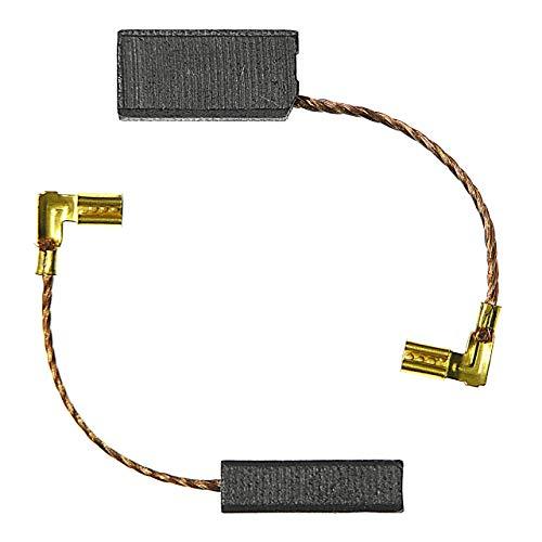 1 Paar ( 2Stück ) Kohlebürsten Kohlestifte kompatibel passend für Collomix Rührwerk Mixer Rührgerät RGE 110,RGE 120,RGE 125,RGE 130,RGE 140