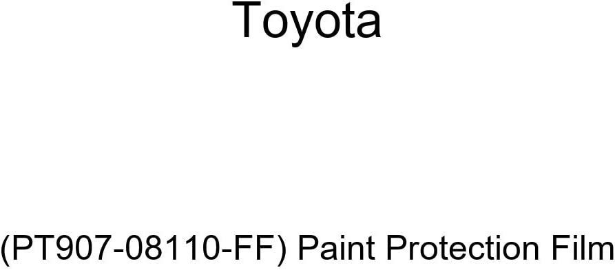 TOYOTA Genuine PT907-08110-FF Protection Paint Film Popularity Max 88% OFF