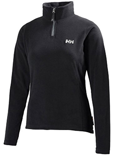 Helly Hansen Damen Fleecejacke W Daybreaker 1/2 Zip Fleece-pullover, Schwarz (Black), L