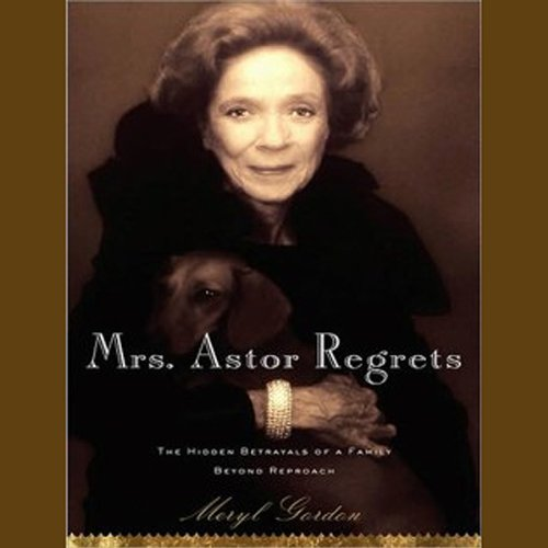 Mrs. Astor Regrets audiobook cover art