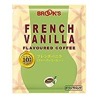 ブルックス フレンチバニラ 10g×20袋 ドリップバッグコーヒー フレーバーコーヒー 珈琲 BROOK'S BROOKS