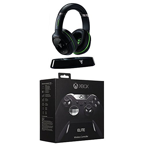 Turtle Beach Elite 800X Premium Wireless Surround Sound Gaming Headset (Xbox One, Xbox One S) + Xbox One Elite Wireless Controller