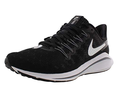 Nike Air Zoom Vomero 14 Wide Wide Womens Shoes Size 6, Color: Black/White/Thunder Grey