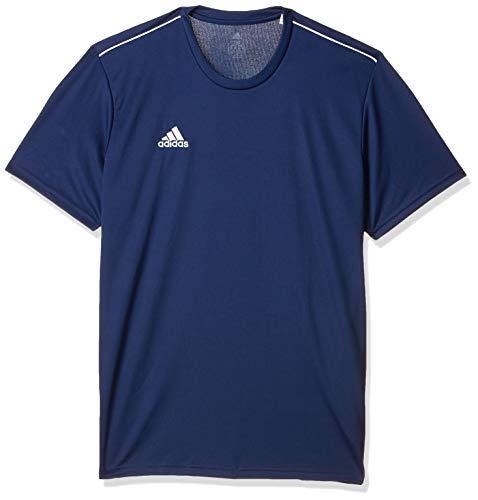 Adidas Core 18 Training Jsy, Camiseta Hombre Azul (Dark Blue/White), XL
