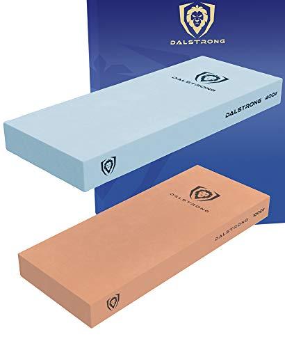 DALSTRONG Premium Wetzsteine - Extra große Sandsteine - Top-Grade Corundum