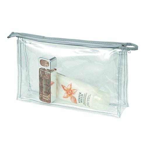 HALFAR Trousse de toilette ou maquillage zippée transparente - 1800177