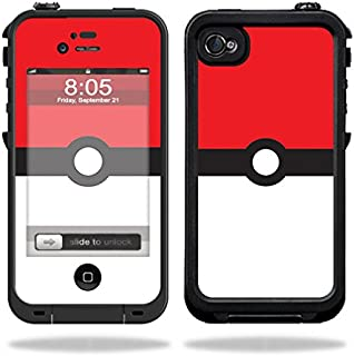 MightySkins Skin Compatible with Lifeproof iPhone 4 / 4S Case – Battle Ball | Protective, Durable, and Unique Vinyl Decal wrap Cover | Easy to Apply, Remove, and Change Styles | Made in The USA