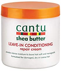 CANTU LEAVE-IN CONDITIONING REPAIR CREAM is great for relaxed, texturized, colored, and permed hair. REPAIRS SPLIT ENDS: Infused with pure Shea butter and other natural oils to stop and mend breakage, repair split ends, and strengthen fragile hair. D...