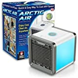 5 L Room/Personal Air Cooler (Multicolor, Arctic Air Mini Portable Air Cooler Humidifier Purifier Mini Cooler (White) with Portable Waterproof USB Cable)