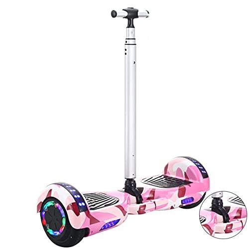 Hoverboard Self Balancing Patinete Elétrico Scooter de Equilibrio eléctrico Universal de Dos Ruedas,Pink