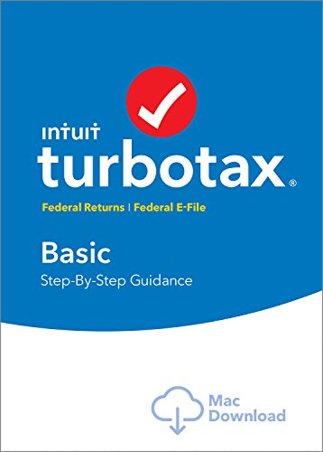 [Old Version] TurboTax Basic 2018 Tax Software [MAC Download]