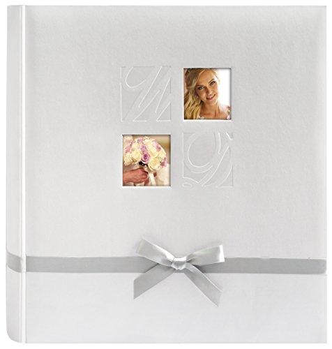 Zep S.r.l HA323250 Collection Mariage Charlotte Album Photo avec 50 Pages Blanc 32 x 32 cm