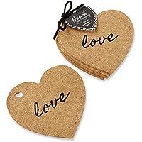 4-Set Kate Aspen Heart Cork Coasters