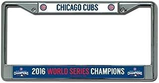 Rico MLB Chicago Cubs World Series Chrome Frame, 12