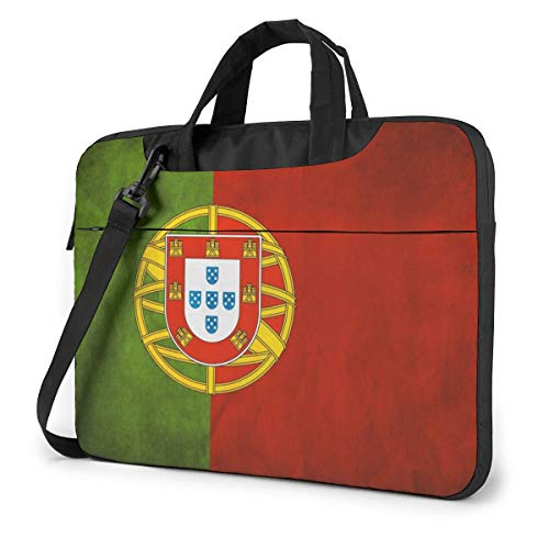 Portugal Flag Laptop Case Sleeve Shoulder Bag for...
