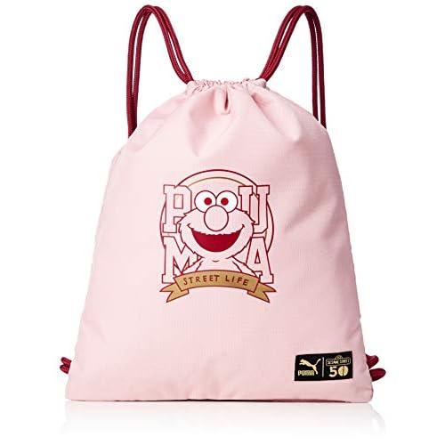 PUMA Sesame Street Gym Sack, Sacca Sportiva Unisex Bambino, Bridal Rose, OSFA