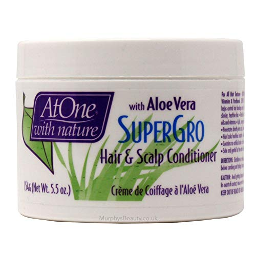 AtOne With Nature Super Gro Conditioner 5.5 oz. Jar