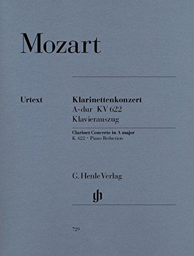 Konzert a-Dur KV 622 Klar Orch. Klarinette in a, Klavier