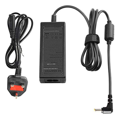 ARyee 19.5V 1.58A AC Adapter Laptop Charger for Acer Aspire One ZG5 A110 A150 D250 D150 PA-1300-04 A150-1006