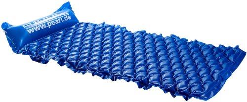 PEARL Wasserliege: Komfort-Luftmatratze für ideale Liegebedingungen auf dem Wasser (Luftmatratze Meer)
