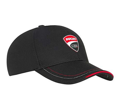 Ducati Corse Badge Patch Schwarze Mütze